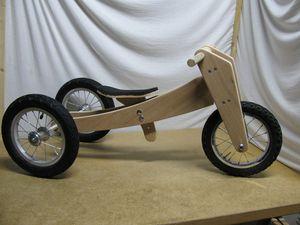 fabriquer une draisienne en bois